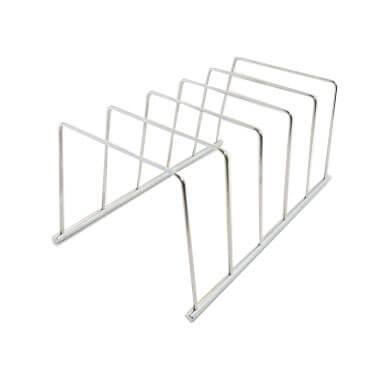 5 slot loop style pouch sterilization rack PR-L0944-5