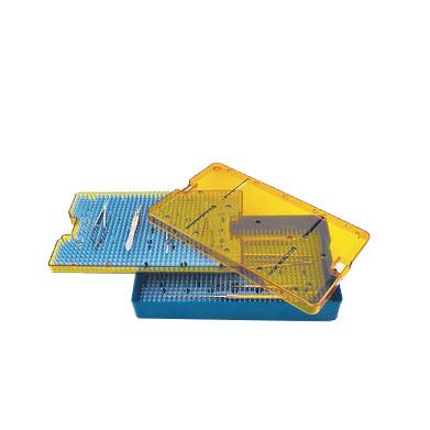 medical sterilization instrument tray stz1038d2 - 10 x 6 x 1p5