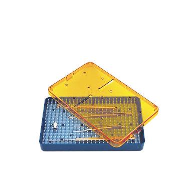 medical sterilization instrument tray stz634 - 6p5 x 4 x p75