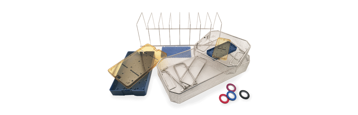 sterilization baskets trays and stringers