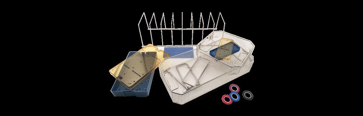 sterilization baskets trays and stringers