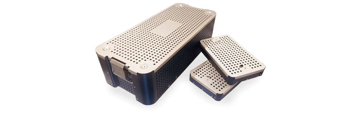 Standardyz sterilization trays